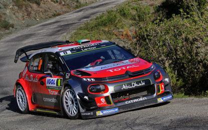 Le Citroën C3 WRC pronte per la Germania