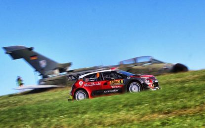 Rally Germania: Mikkelsen mantiene la 2° posizione