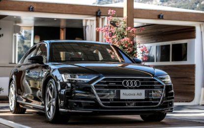 Nuova Audi A8: prima nazionale a Porto Cervo