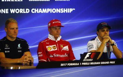 Belgio: la conferenza stampa FIA dei piloti