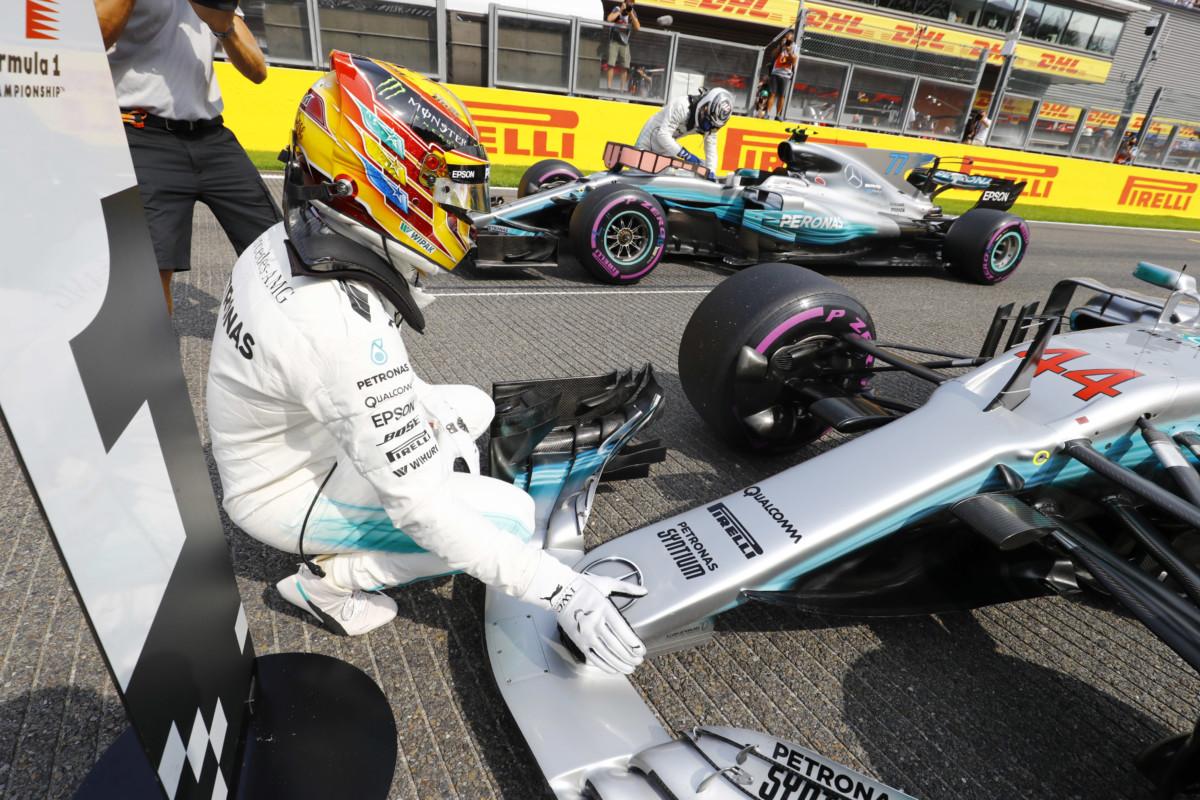 Belgio: pole di 4,2 secondi più veloce del 2016