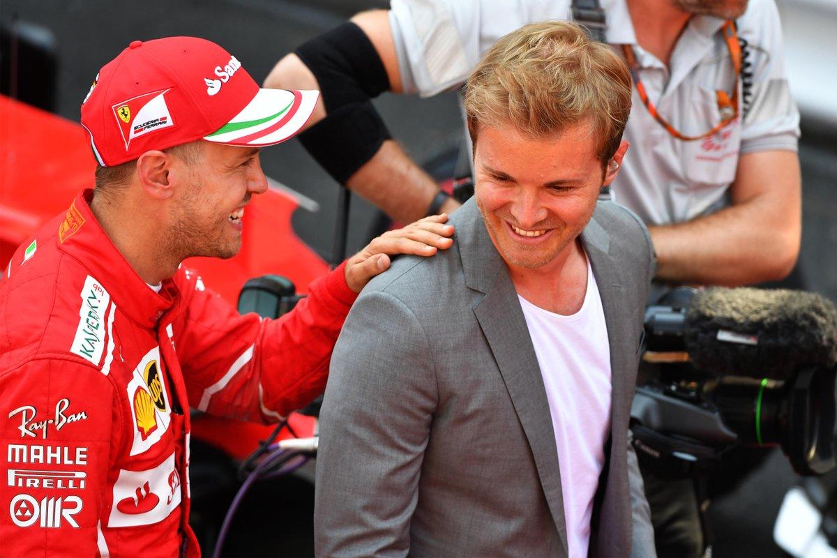 Rosberg dubita che Vettel possa vincere nel 2018