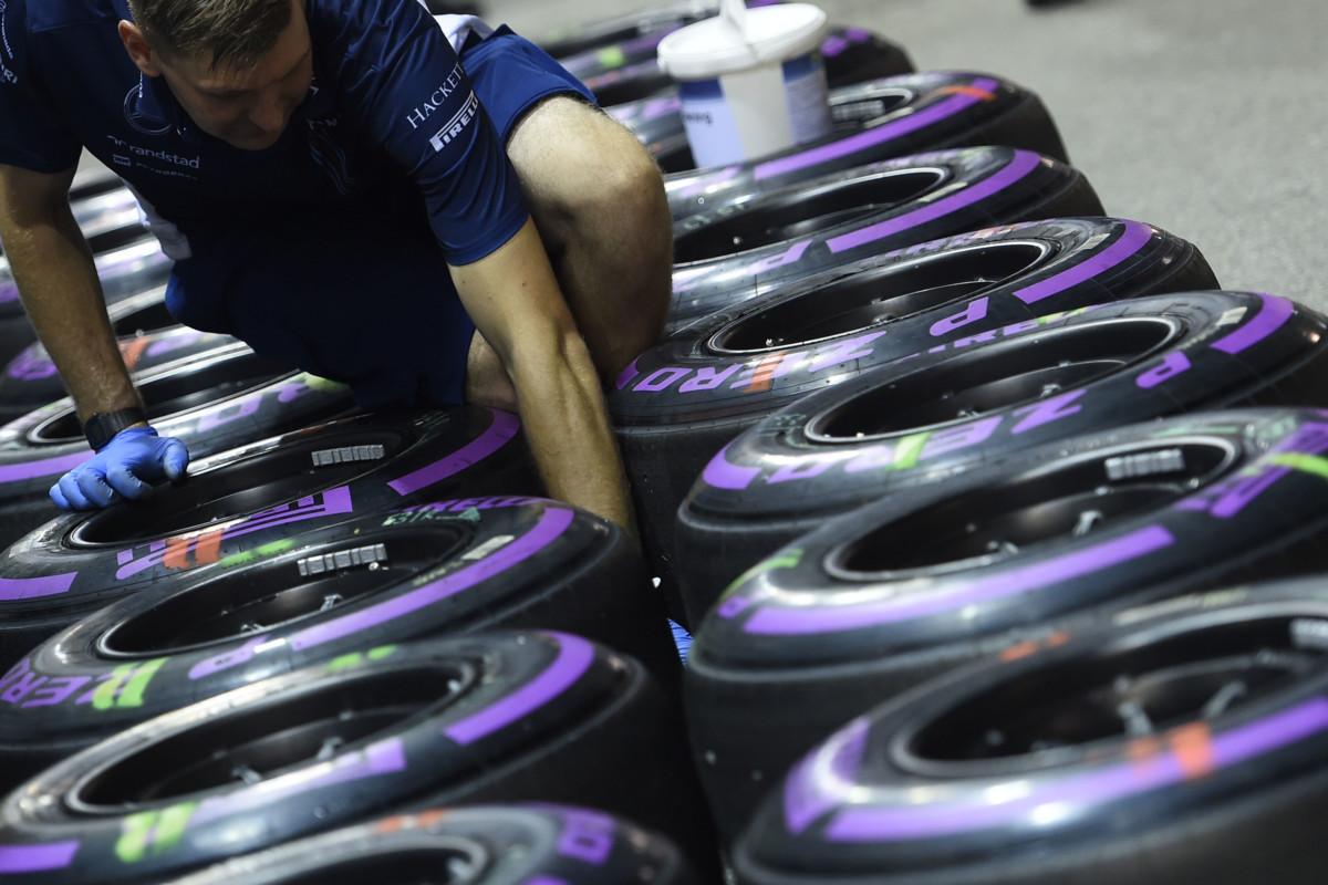 Pirelli annuncia set e mescole per Singapore