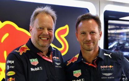 Aston Martin title sponsor Red Bull dal 2018