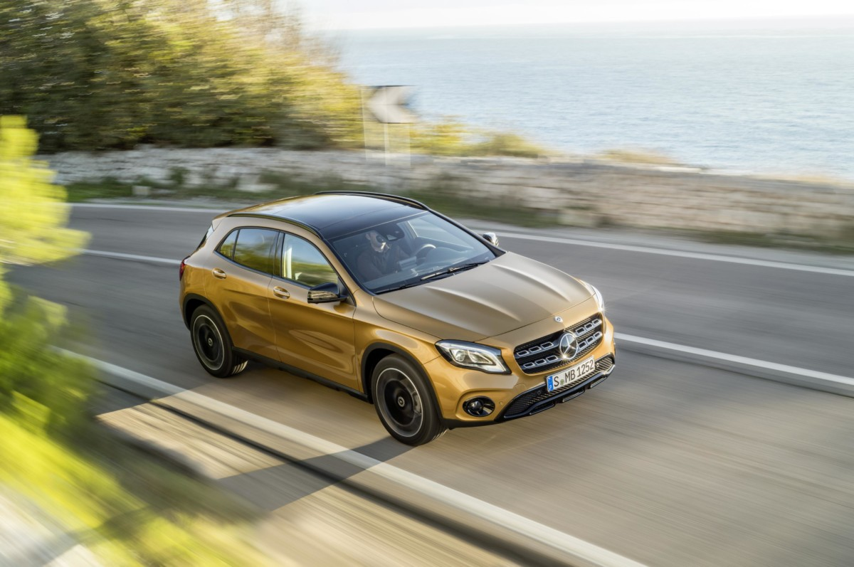 Open weekend Mercedes con GLA e Ludotech