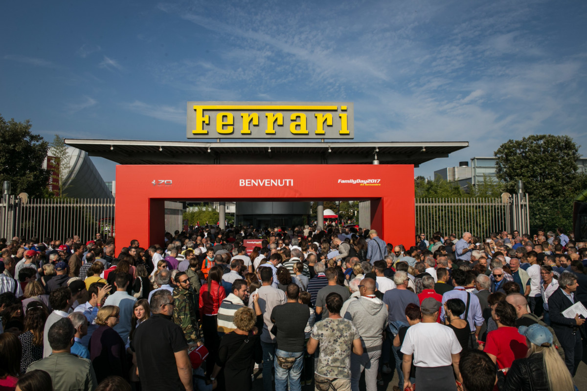 Record di visitatori al Ferrari Family Day