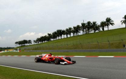 Malesia: il punto Ferrari sulle libere del venerdì
