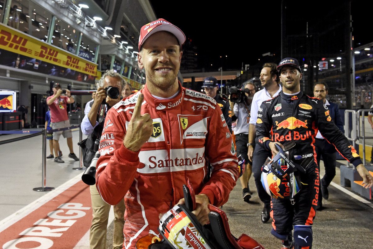 Singapore: Ferrari davanti a tutti con Vettel. Raikkonen 4°