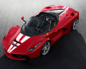 LaFerrari Aperta all'asta per Save the Children