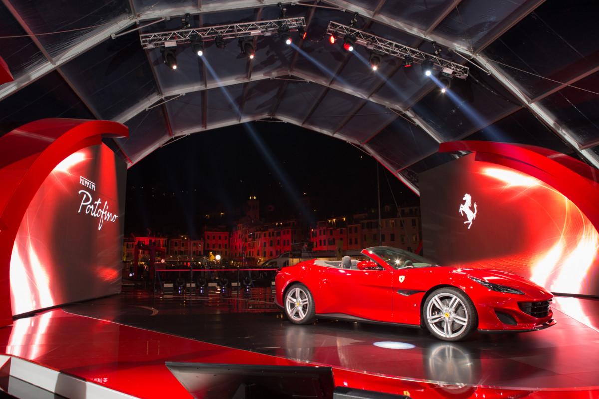 World Premiere della Ferrari Portofino