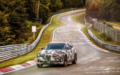 Stelvio Quadrifoglio SUV più veloce al mondo
