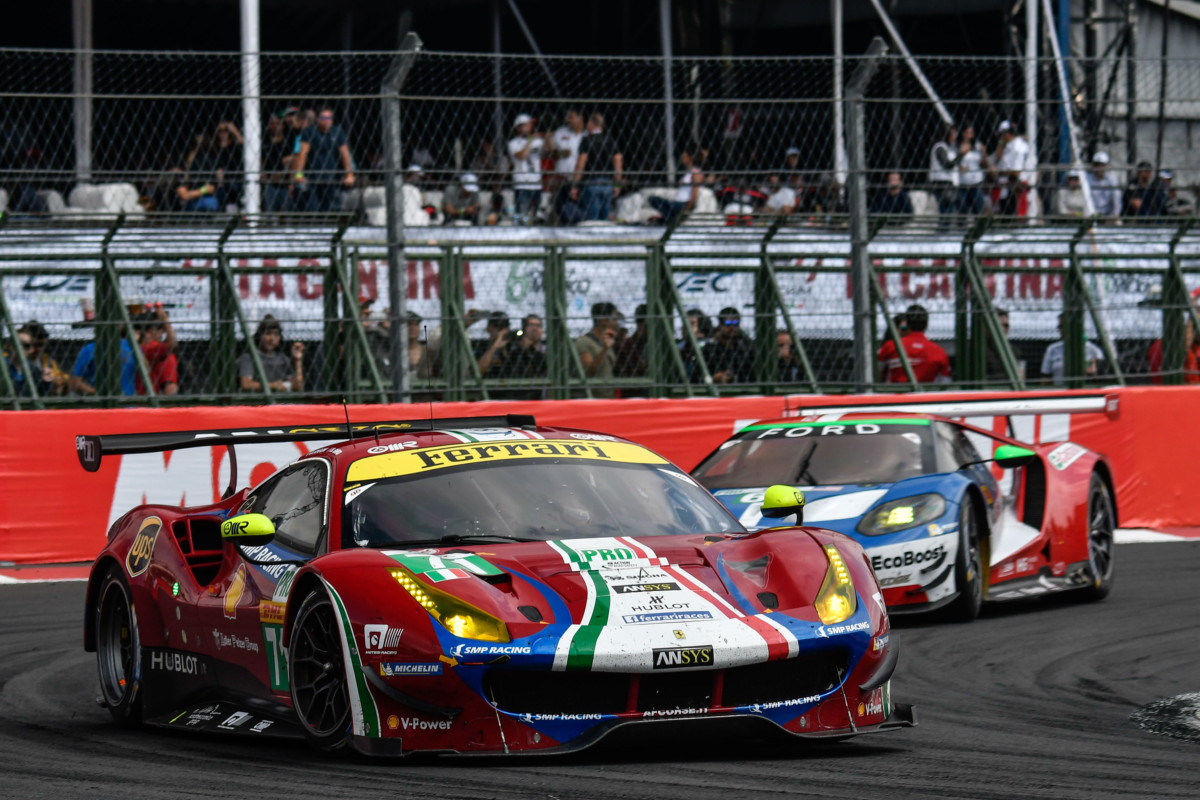 WEC: Ferrari seconda in Messico con Rigon e Bird