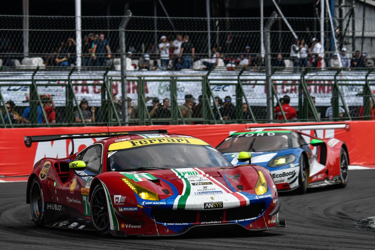 WEC: Ferrari seconda in Messico con Rigon e Bird