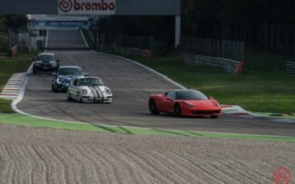 Supercar all'evento GTCup di Monza