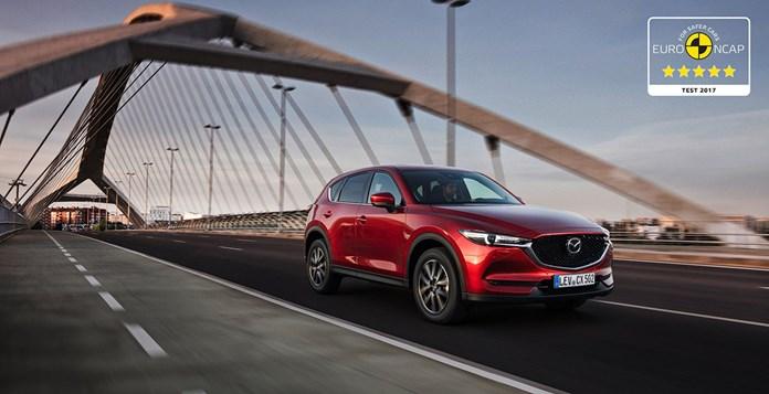 Cinque stelle Euro NCAP per la nuova Mazda CX-5