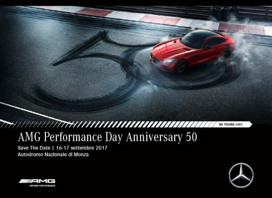 Mercedes-AMG festeggia 50 anni a Monza