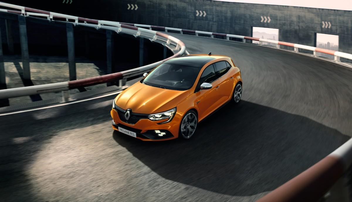 Nuova Renault Mégane R.S.