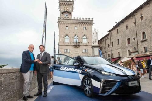 Toyota Mirai al Gran Premio di San Marino