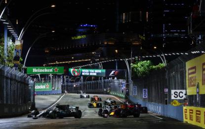 E finalmente il primo GP di Singapore bagnato!