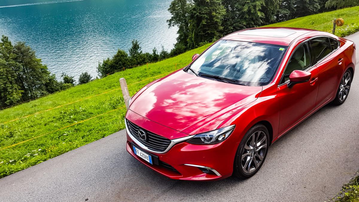 Con Mazda6 da Monza a Spa