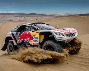 Le Peugeot 3008DKR in Marocco per allenarsi