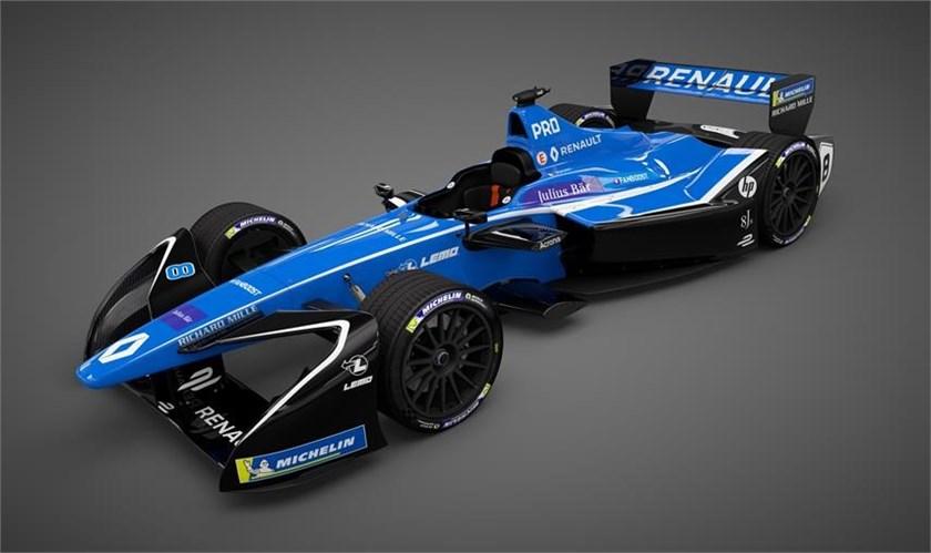Renault e.dams festeggia il Titolo e presenta la Z.E.17