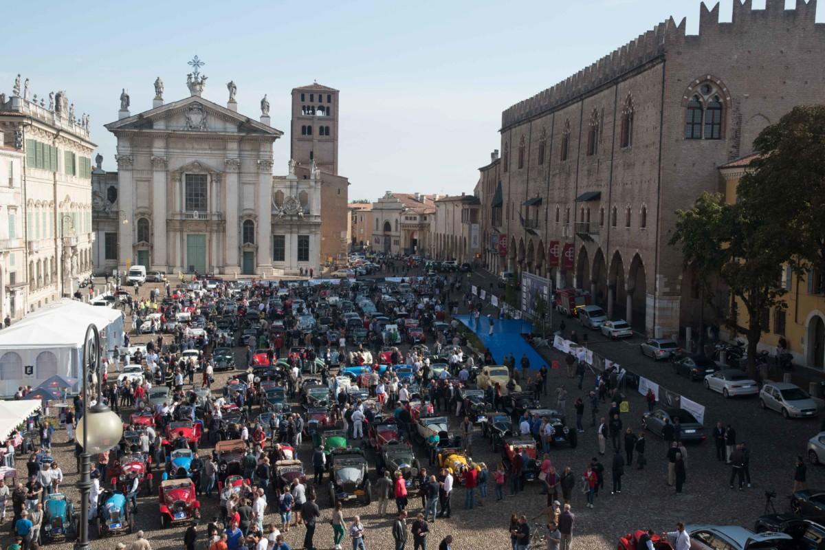 Partito da Mantova il Gran Premio Nuvolari 2017
