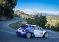 Rally di Roma: Peugeot sul podio nel primo giorno