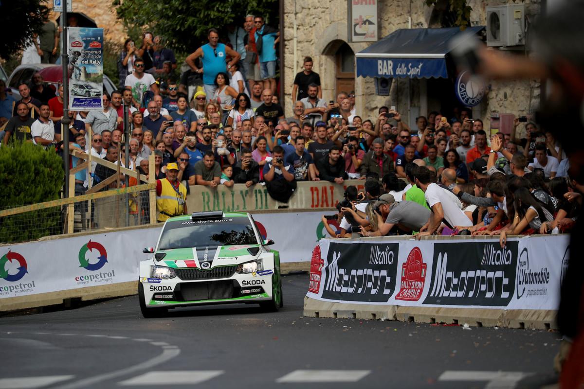 Rally di Roma: Scandola retrocesso al 2° posto