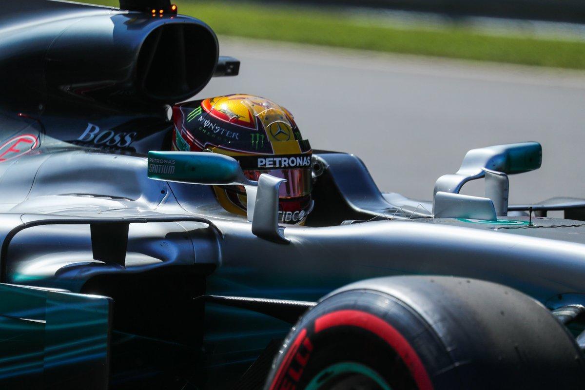 Hamilton: test Pirelli giovedì al Paul Ricard