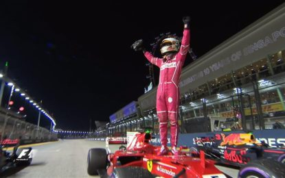 Vettel conquista la pole a Singapore