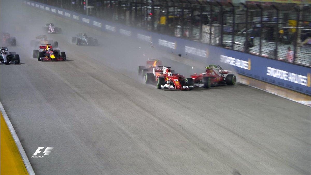 Incubo Singapore per la Ferrari