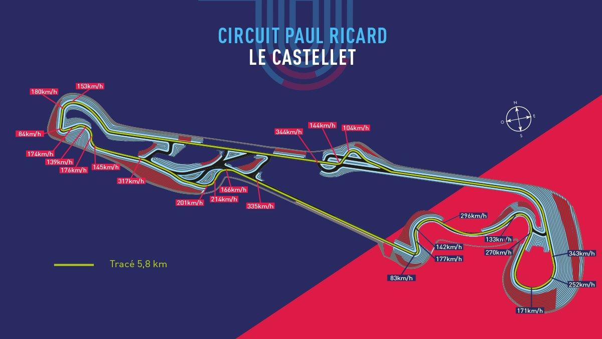 Alesi sul nuovo layout del Paul Ricard per la F1