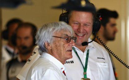 """Ecclestone: """"La McLaren non andrà meglio con la Renault"""""""
