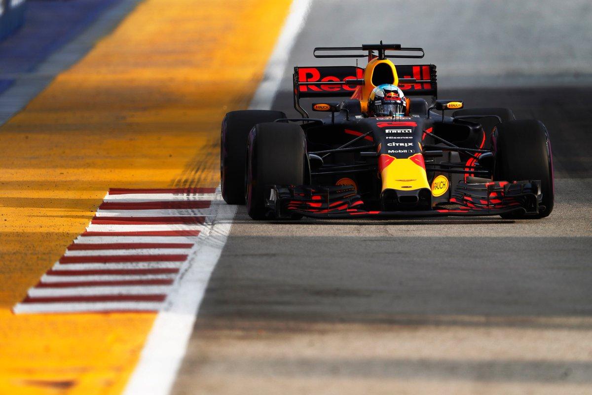 Singapore: Ricciardo davanti a Vettel nelle FP1