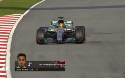 Malesia: prima fila Hamilton-Raikkonen. Vettel ultimo