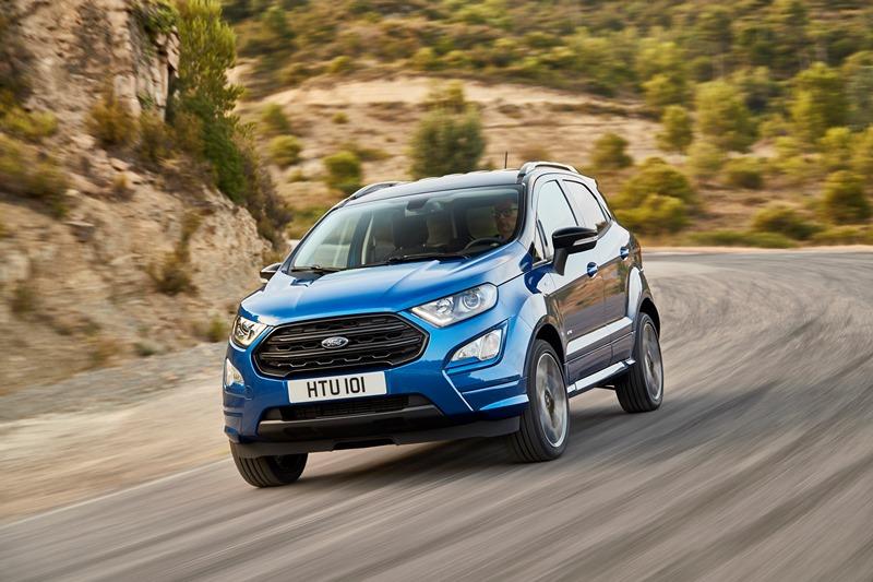 Ford presenta la nuova EcoSport