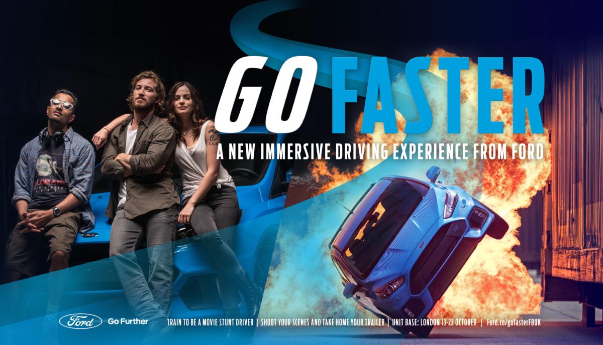 Stuntman per un giorno con Ford Go Faster