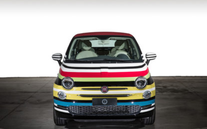 Fiat 500C Missoni by Garage Italia Custon all'asta per amfAR
