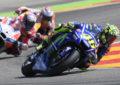 Valentino Rossi ai microfoni di Sky dopo il GP di Aragon