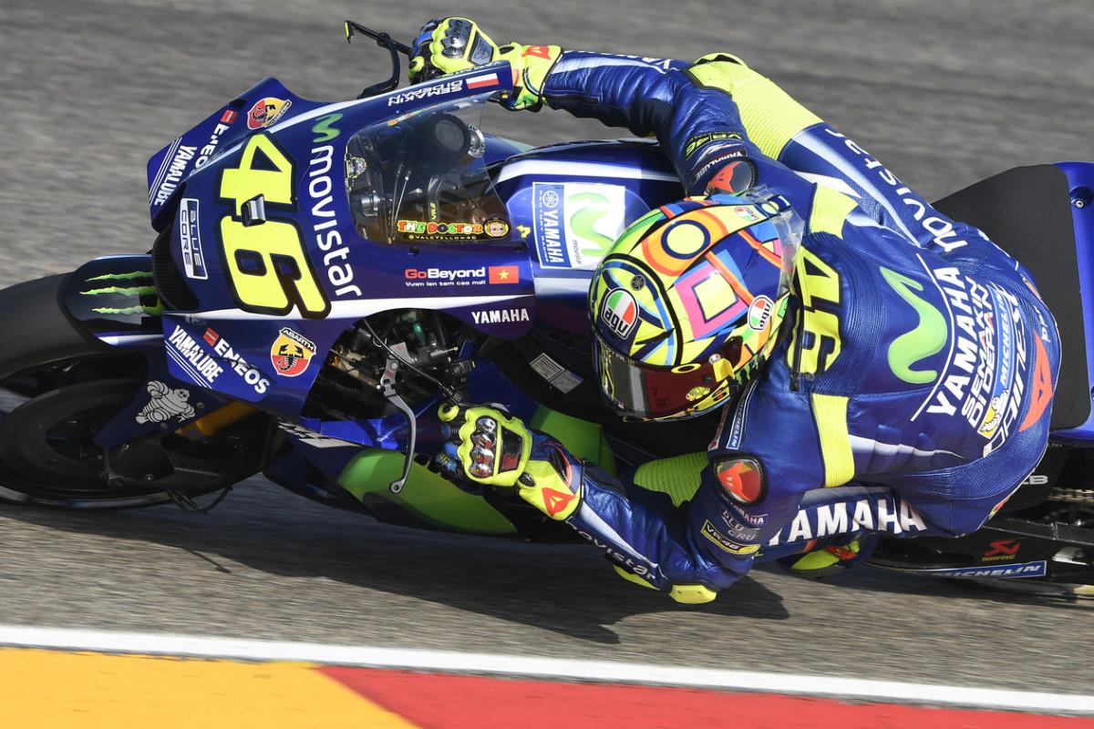 """Rossi: """"Il 3° posto una sorpresa. E la gamba migliora"""""""