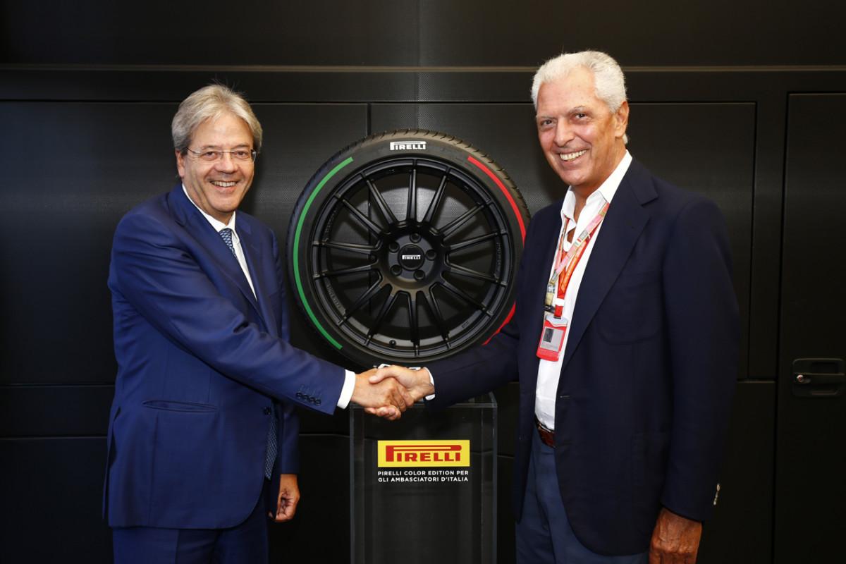 Pirelli: incontro Tronchetti Provera-Gentiloni e ritorno in Borsa