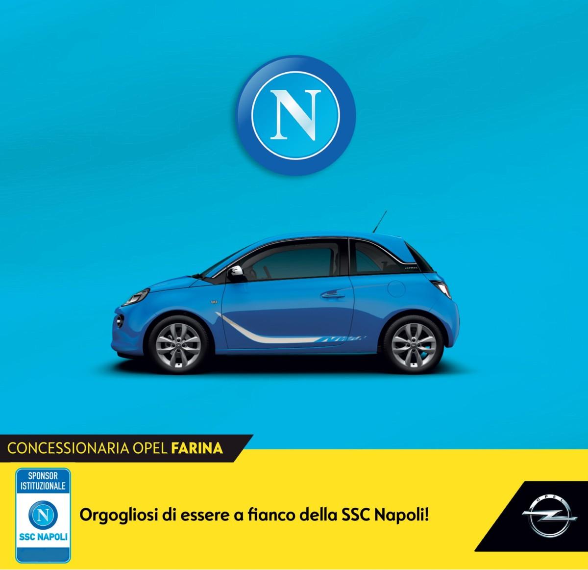 Opel rinnova la partnership con SSC Napoli