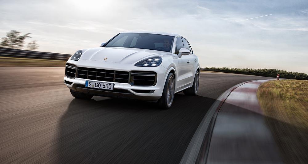 Nuova Porsche Cayenne Turbo