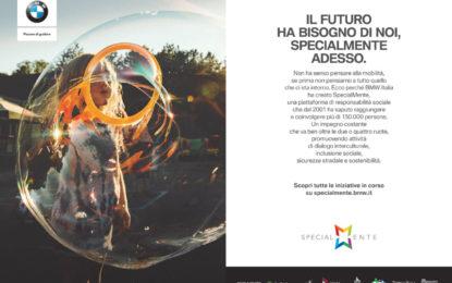 Una campagna BMW Italia per SpecialMente