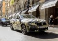 BMW X2 Digital Camouflage in giro per Milano