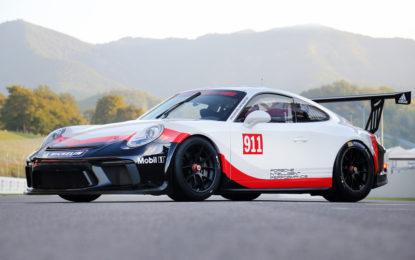 Presentata la nuova Porsche 911 GT3 Cup per il 2018