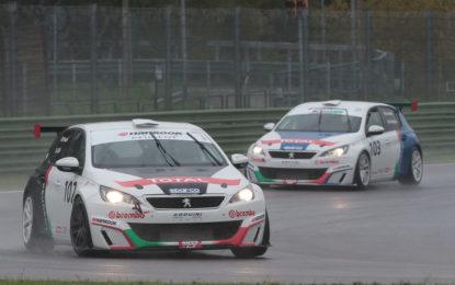 Peugeot 308 Racing Cup sul podio a Imola