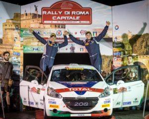 Pollara e Princiotto Campioni Italiani Rally Junior 2017