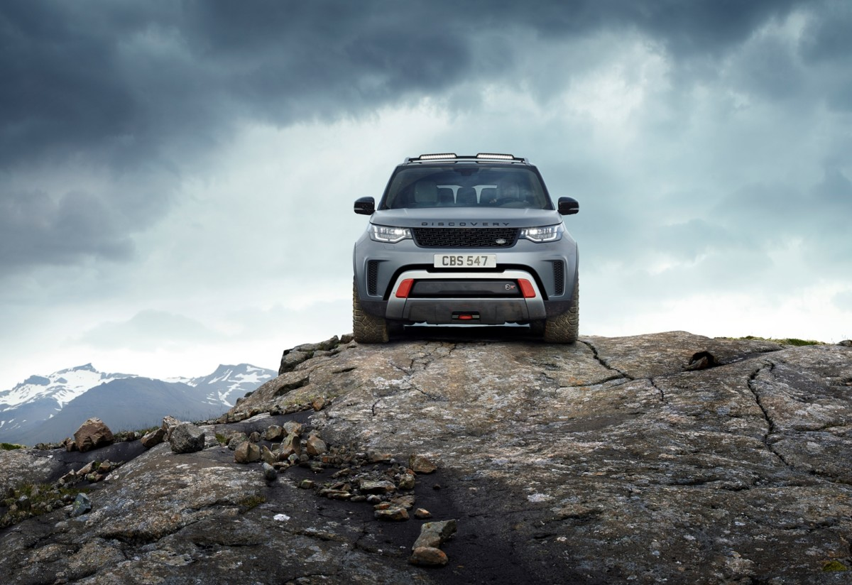 Land Rover Discovery SVX, il top dell'all-terrain